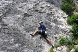 Rock climbing – an amazing outdoor activity in Bled surroudings, Slovenia