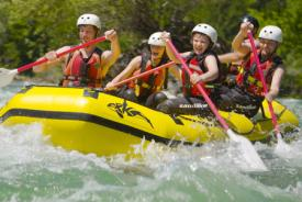 Rafting – A fun activity in Slovenia