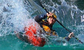 kayaker on Soca_foto by Blaz Crepinsek_archive www bovec si